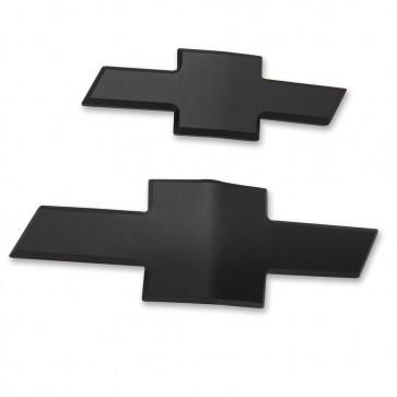 Chevy Bowtie Insert Set  - Black Matte