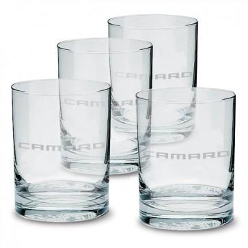 Camaro Glass Tumbler Set - 13.5 oz.