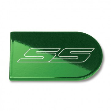 Color-Matched Ignition Key Plate Cover - SS Logo