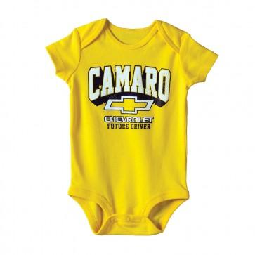 Camaro Future Driver Onesie  - Yellow