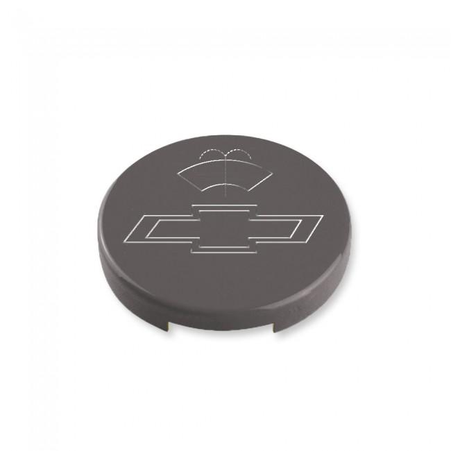 Camaro Gen 6 Washer Fluid Cap Cover Bowtie Logo
