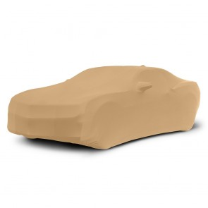 2010-2018 Satin Stretch Indoor Camaro Car Cover - Tan