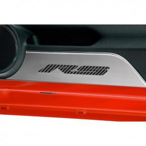 Camaro Carbon Fiber Kick Plates - RS
