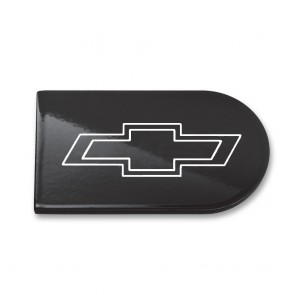 Camaro Color-Matched Ignition Key Plate Cover - Bowtie Logo