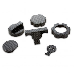 Camaro OEM Under Hood Accessories Kit with Carbon Fiber Finish