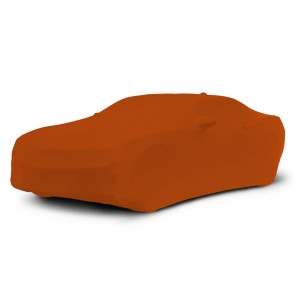 2010-2018 Satin Stretch Indoor Camaro Car Cover - Inferno Orange