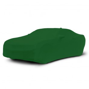 2010-2018 Satin Stretch Indoor Camaro Car Cover - Synergy Green