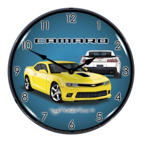 5th Gen Camaro SS Lighted Clock - Multiple Colors