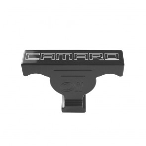 Gen-6 Camaro Oil Dip Stick Handle Cover - SS Logo