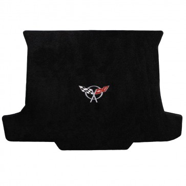 Corvette 1998-2004 Convertible Cargo Mat Black Ultimat C5 Logo