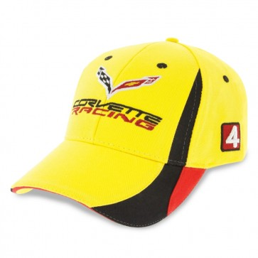 Corvette Racing Cap - Yellow/Black/Red