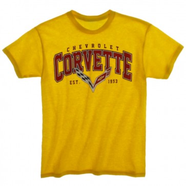 C7 Corvette Youth Tee | Sunflower