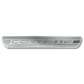 Corvette Doorsill Plates -Chrome