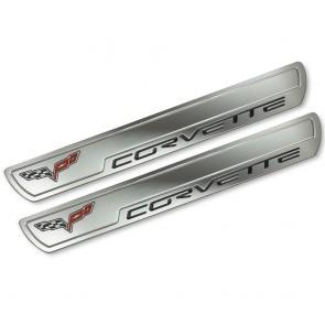 Corvette C6 Chrome Doorsill Plates
