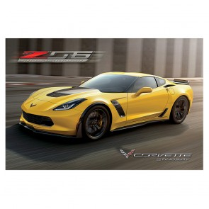 C7 Corvette Z06 Supercharged Poster