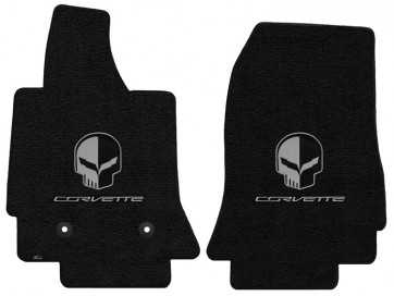 Corvette Jake 2 Pc. Ultimat™ Floor Mat Set - Jet (2014 & up)