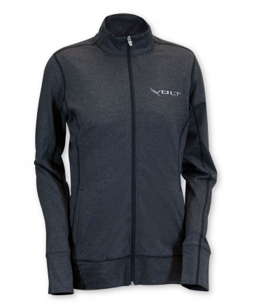 Volt Women's Full Zip Jacket by Cutter & Buck - Black
