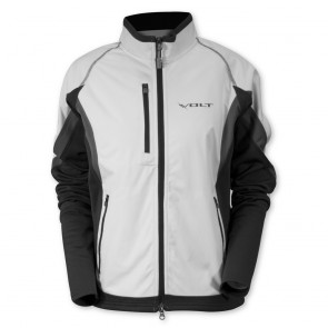 Women's Softshell Jacket - White/Gray/Steel
