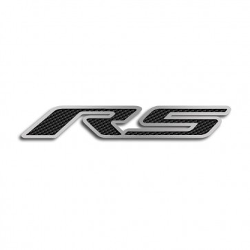 Camaro Carbon Fiber Hood Panel Emblem- RS (2010-2013)