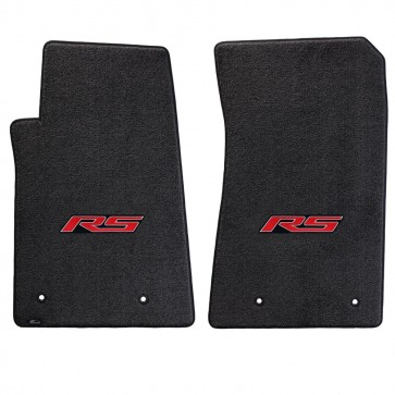Camaro 2016 2Pc Mats Ebony Ultimat RS Logo