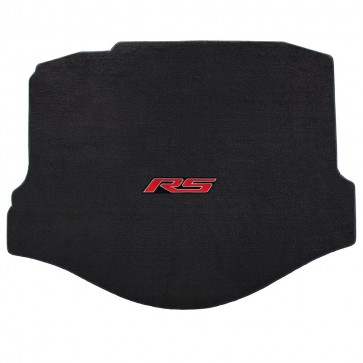 Camaro 2016 Coupe Trunk Mat Ebony Velourtex RS Logo