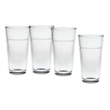 Camaro Glass Beverage Set - 20 oz.