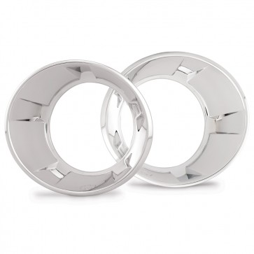 2010-2013 Camaro Running Light Bezels - Chrome-Plated