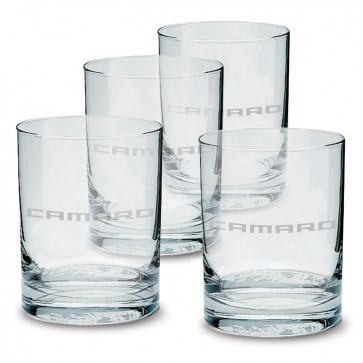 Camaro Glass Tumbler Set - 13.5 oz.