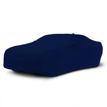 2010-2018 Satin Stretch Indoor Camaro Car Cover - Dark Blue