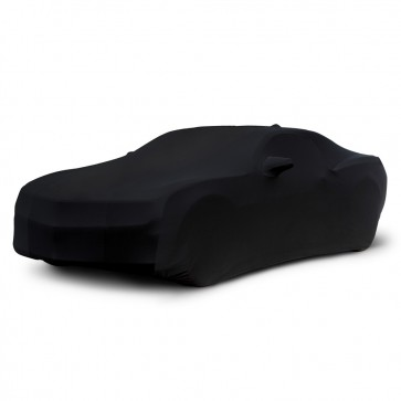 2010-2017 Satin Stretch Indoor Camaro Car Cover - Black