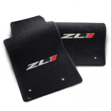 Camaro 2010-2015 ZL1 Floor Mats - Black - 2pc Set