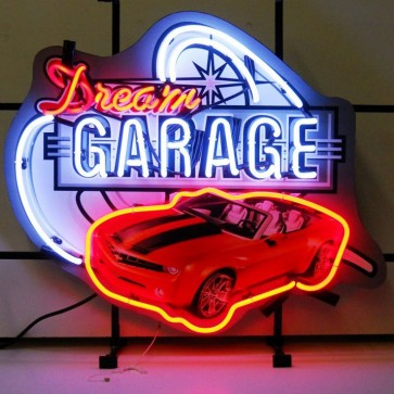 Dream Garage Camaro Neon Sign