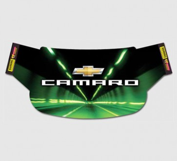 Camaro Windshield Wrap - Mach Speed