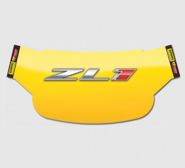 Camaro Windshield Wrap - ZL1 Yellow