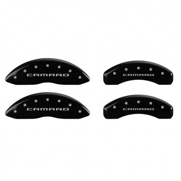 2010-2015 Camaro Logo -LS & LT Caliper Covers (Black)