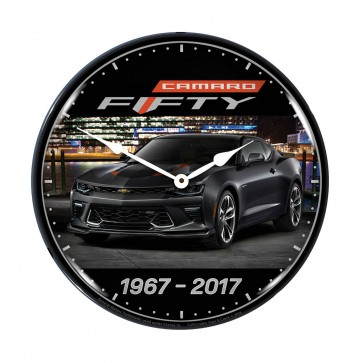 Camaro Fifty Lighted Clock