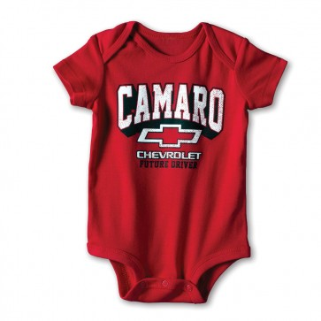 Camaro Future Driver Onesie | Red