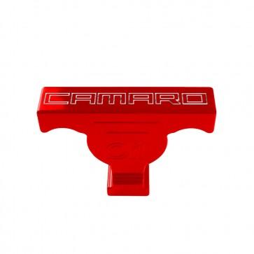Gen-6 Camaro Oil Dip Stick Handle Cover - ZL1 Logo
