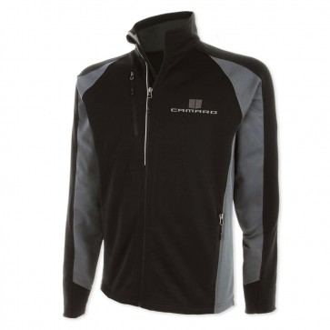 Full-Zip Performance Jacket | Black/Gray Storm