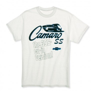 Camaro SS 396 Version Tee | White