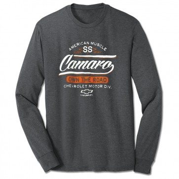 SS Own The Road Long Sleeve Tee - Graphite Heather