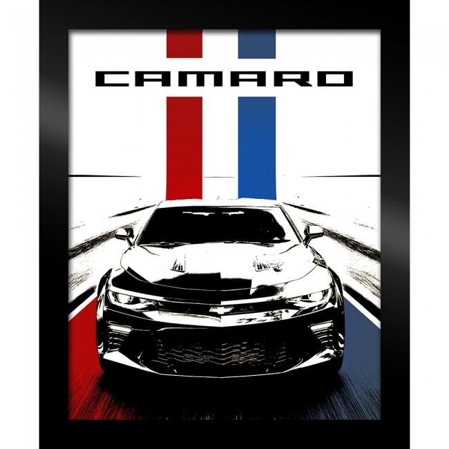 Camaro Stylized Framed Art 19\