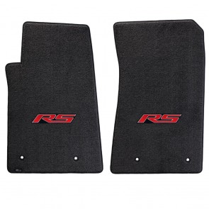 Camaro 2010-2015 2Pc Mats Ebony Ultimat RS Logo