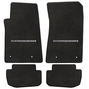 Camaro 2010-2015 4Pc Mats Ebony Ultimat Camaro Logo