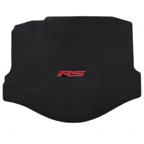 Camaro 2010-2015 Coupe Trunk Mat Ebony Velourtex RS Logo