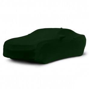 2010-2015 Satin Stretch Indoor Camaro Car Cover - Green