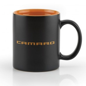 Camaro Spice Mug - Black Matte/Spice