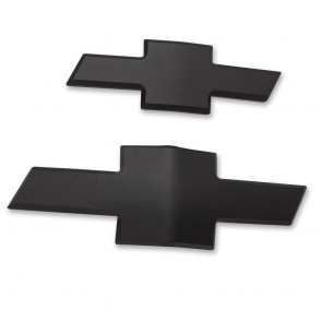 Chevy Bowtie Insert Set  - Black Matte