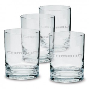 Camaro Glass Tumbler Set 13.5 oz.