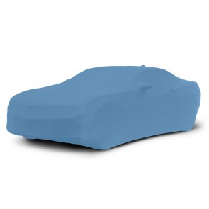 2010-2018 Satin Stretch Indoor Camaro Car Cover - Grabber Blue
